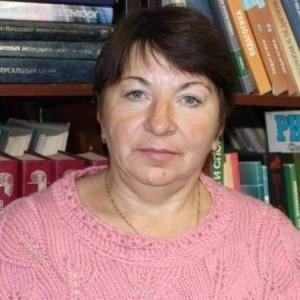 Библиотекарь Татьяна Анатольевна Зыкова