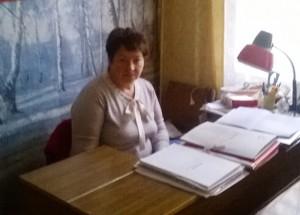 Библиотекарь филиала Татьяна Анатольевна Зыкова