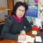 Библиотекарь ОКиО Марина Алексеевна Смородина