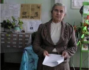 Библиотекарь Галина Дмитриевна Юдина